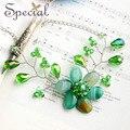 Especial de moda de nova Maxi colares declaração de ágata Natural colares azul e verde jóias para meninas mulheres XL150706