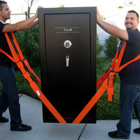 2 In 1 Forearm Forklift Lifting And Moving Straps Transport Belt Wrist Straps To Easily Carry