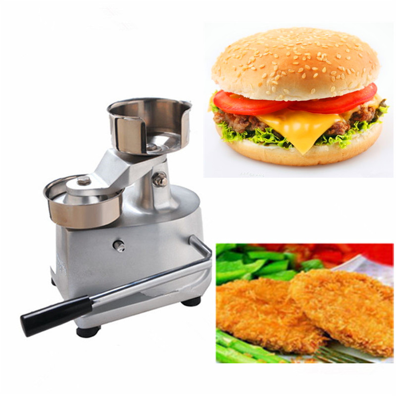 цена на 100mm manual hamburger patty press hand operated round meatball shaping machine