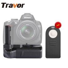 Travor Vertical holder Battery Grip para Nikon D40 D40 D60 D3000 D5000 DSLR Cámara + control remoto universal como un regalo de forma gratuita