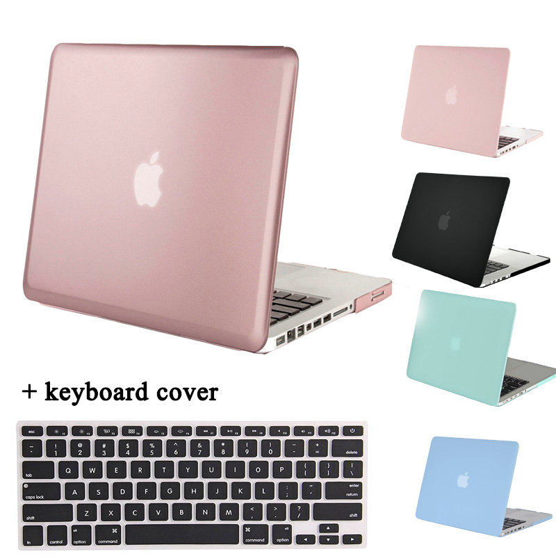 MOSISO Crystal Matte Cover Case for MacBook Pro 13 A1278 CD ROM Pro 15 A1286 Plastic Protective Laptop Hard Shell+Keyboard Cover цена и фото