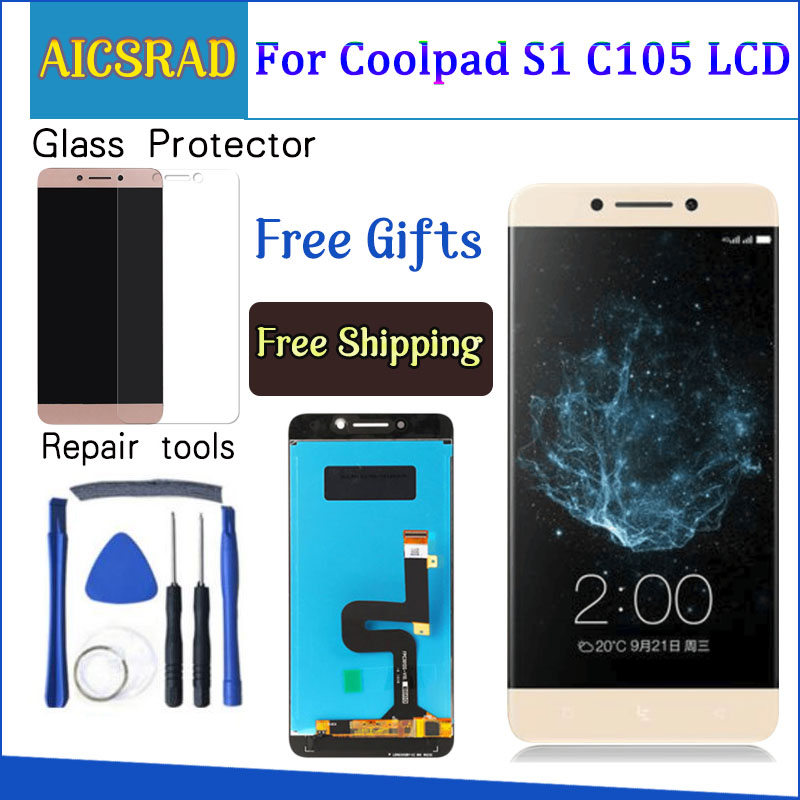 For Letv Le Eco Cool For Coolpad S1 C105 Changer S1 C107-9 C105-8 Touch screen display 5.5 inch LCD Digitizer AssemblyFor Letv Le Eco Cool For Coolpad S1 C105 Changer S1 C107-9 C105-8 Touch screen display 5.5 inch LCD Digitizer Assembly