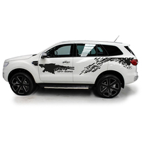 custom car stickers for ford everest endeavour 2015 2018 4pc side body mud off road styling modified graphic vinyl car stickers