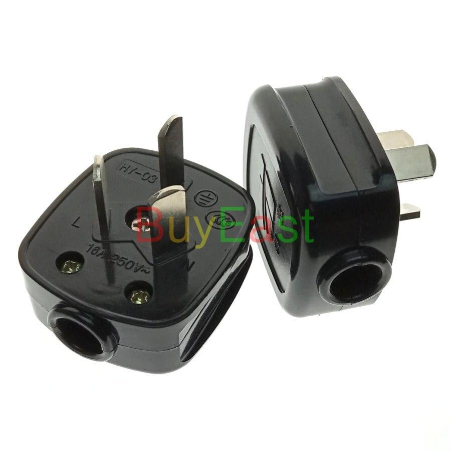 (1 Pc) China 16a Männlichen Wichtigsten Power Stecker Ac100 ~ 250 V 16a Schwarz Farbe (arbeit Mit Xiaomi Smart Begleiter) MöChten Sie Einheimische Chinesische Produkte Kaufen?