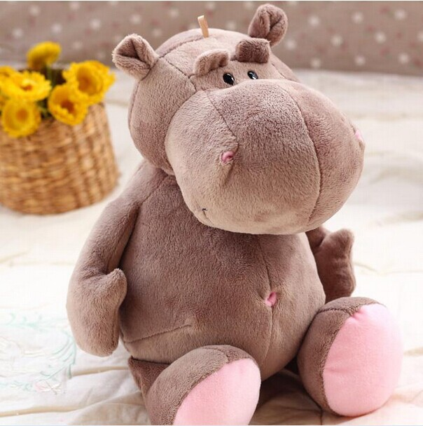 big cute hippo toy plush gray big belly hippo doll birthday gift toy about 70cm the huge lovely hippo toy plush doll cartoon hippo doll gift toy about 160cm pink