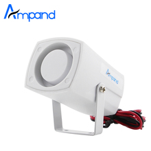 Mini Wired Siren Horn For Wireless Home Alarm Security System