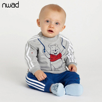 2015 New Brand Baby Boy Clothes Spring Autumn Cartoon Clothing Set For Little Boys Kid Costume