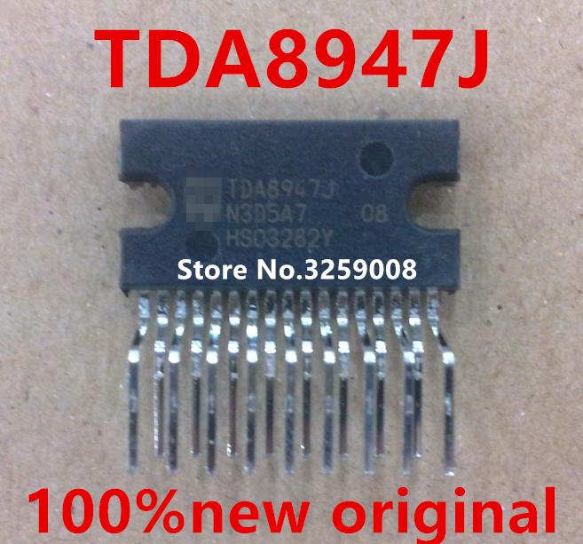 где купить TDA8947J 100% new imported original 5PCS/10PCS дешево