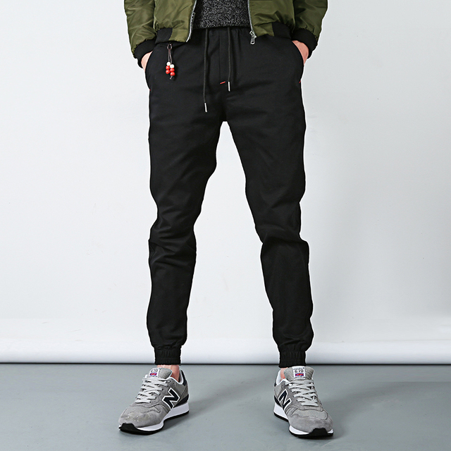 Black Jogger Pants Outfit Men