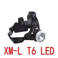 NIEUWE CREE XML T6 LED Koplamp Koplamp Koplamp Licht 3-mode fakkel 2x18650 batterij + EU/ONS autolader voor vissen Lichten