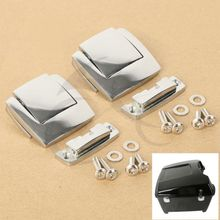 TCMT Tour Pack Pak Latches For Harley Touring Classic Electra Glide Ultra Razor FLHX FLTR 80-13(China)