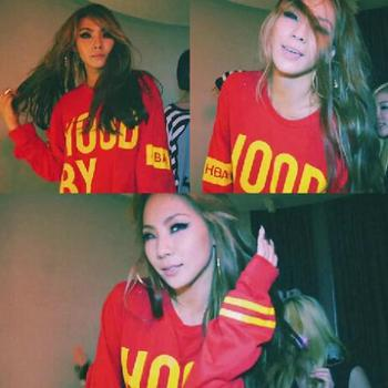 2NE1 CL Hoodie Sweatshirts  Do You Love Me MV Hood By Air Coat Pullover bts taehyung warriors