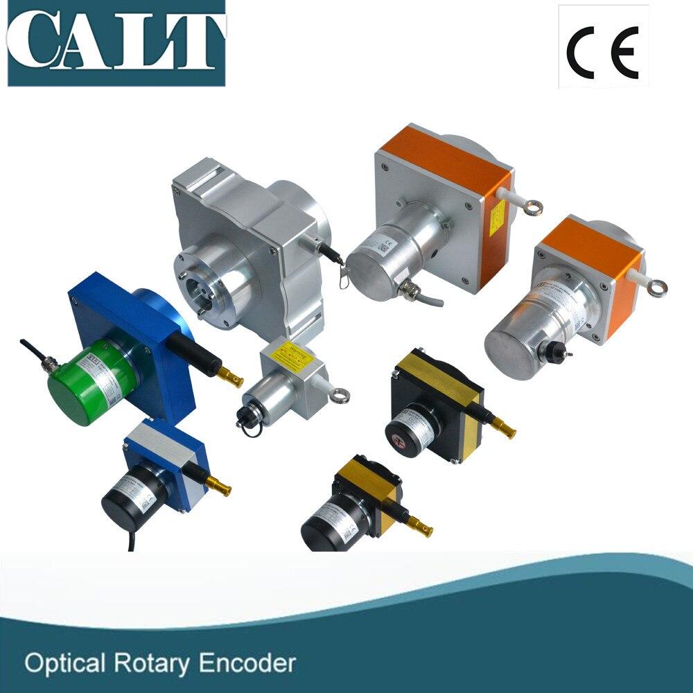 Hohe genauigkeit CESI L8000mm wegaufnehmer kabel topf ...