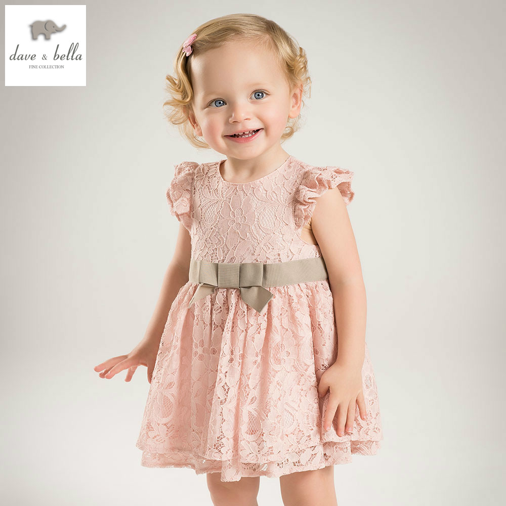 DB5044 dave bella summer baby girls princess bow floral dress baby wedding birthday costume cute clothes children dress db4953 dave bella summer baby girl princess dress baby big bow net yarn wedding dress kids birthday clothes dress girls costumes
