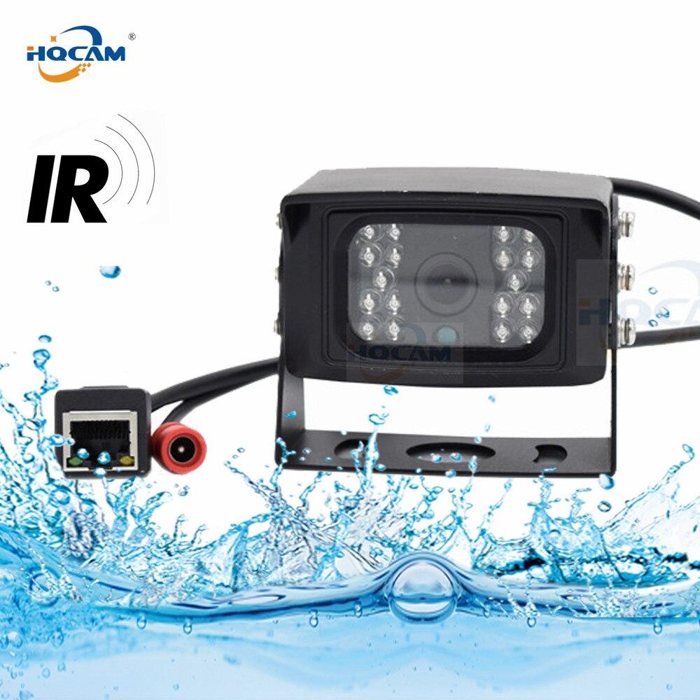 HQCAM Waterproof 720P 960P 1080P BUS IP Camera mini ip camera Indoor Outdoor CAR IP CAMERA IR Cut Night Vision IP Camera xmeye цена