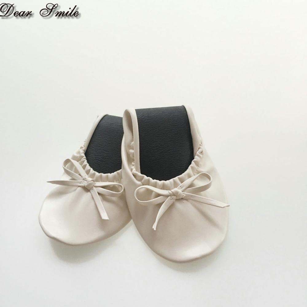 Et Gros Sac Le De Chaussures En Dans Pliage Ballerine Shippping Mariage Pantoufles Libre OAE7nwqx0