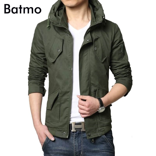 a6c2374a8d3b 95% cotton 2019 New brand spring summer casual outwear men jacket mens  jackets and coats army windbreaker mens overcoat 5XL