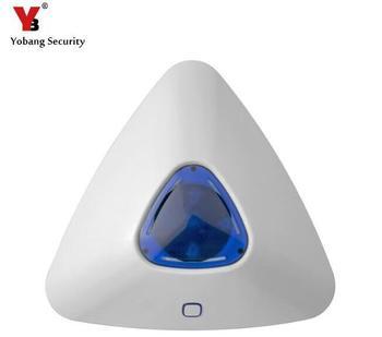 Yobang bezpieczeństwa 433 Mhz czujniki i alarmy inteligentna kontrola bezprzewodowy kryty syreny syreny strobe nadaje się do G90B panel alarmu tanie i dobre opinie yobang security FDL-SS07 433Mhz 110 dB