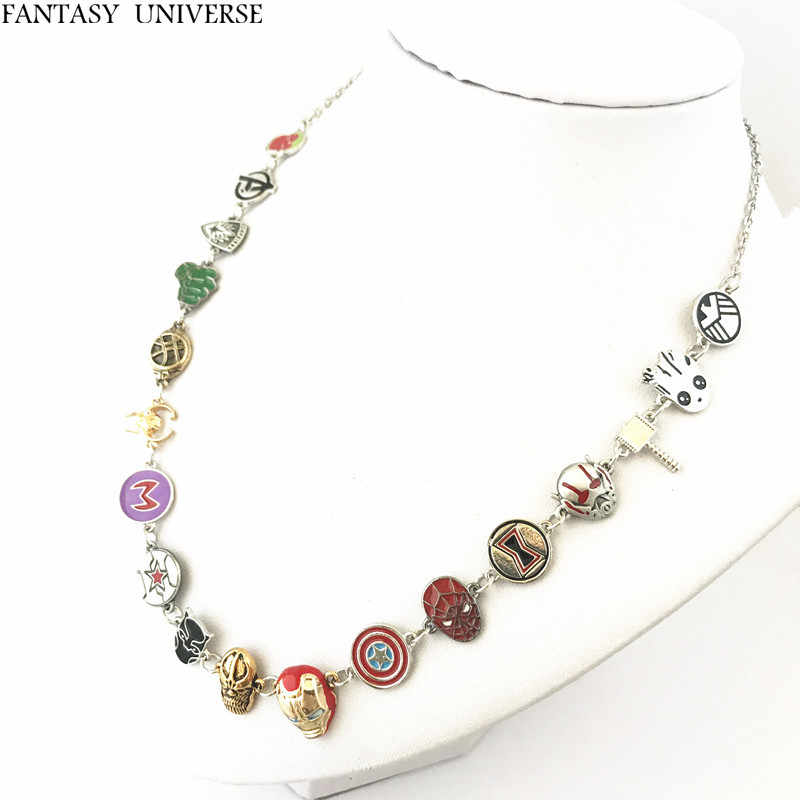 FANTASY UNIVERSE Free shipping 1pcs The Avengers necklace AZSAS01