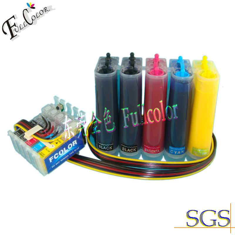 sublimation CISS (continuous ink supply system) with auto reset chip for T1110/TX515FN T1151(2)/1032-1034 free shiping r2400 sublimation ink ciss with transfer ink and arc chip for 8color cis r2400