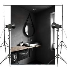 Retro Photography Background Backdrop Black White Studio Props Wall 150x220cm