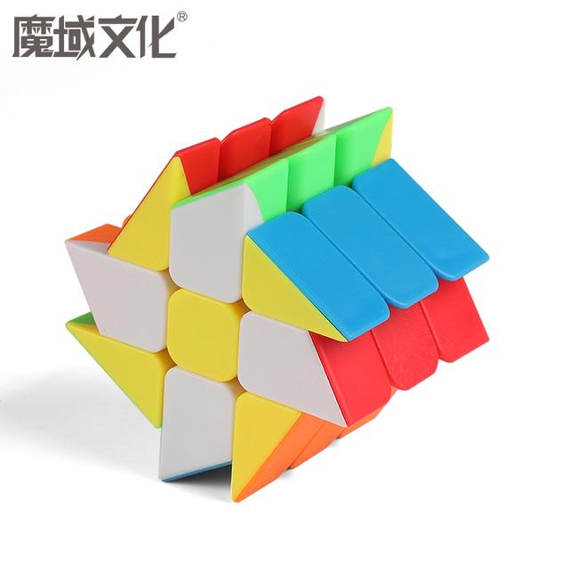 Moyu Meilong MoFangJiaoShi 3x3 Windmill Axis Fisher Magic Cube 3x3x3 Puzzle Twist Educational Kid Toys Games 5
