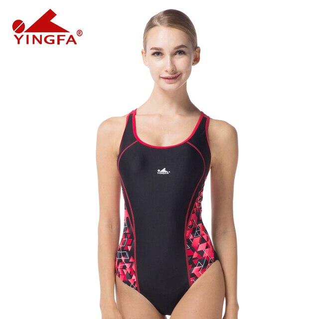 3ccd625ba267 Yingfa sport suit women padded suit brand swimwear one piece chlorine  resistant swimsuit plus jpg 640x640