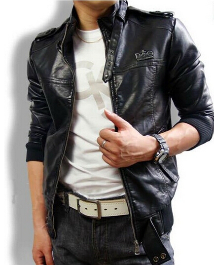 Factory Men Leather Jackets Genuine Real Sheepskin Leather Fashion ...