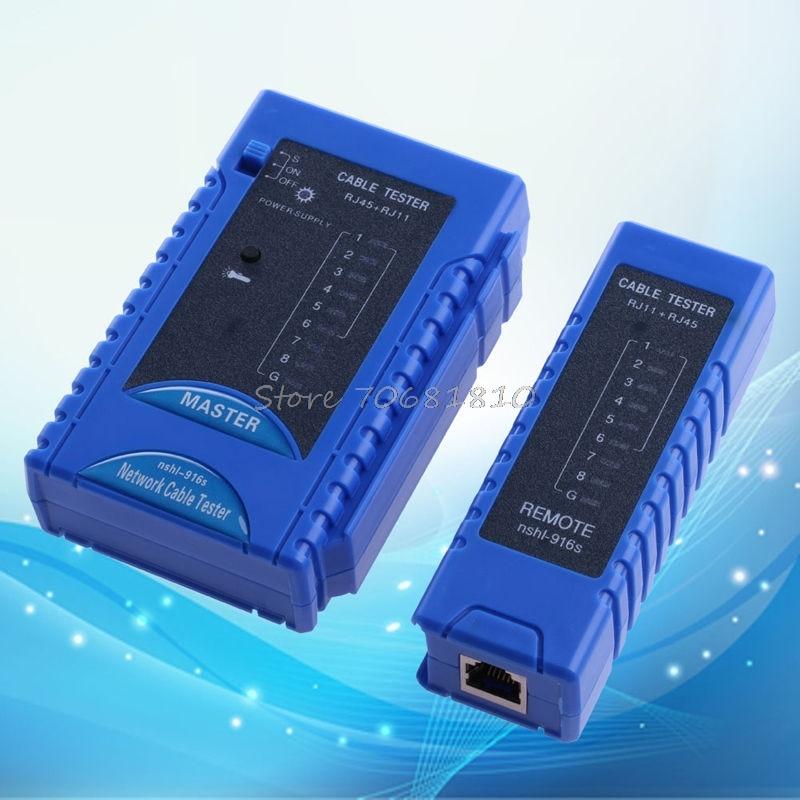 Network Cable Tester RJ45 RJ11 RJ12 CAT5 CAT6 UTP USB Lan Wire Ethernet Test New