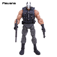 Maravilha Brock Rumlow Crossbones PVC Action Figure Collectible Modelo Toy 7