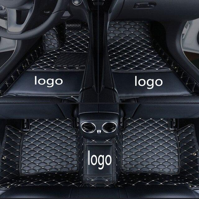 Individuelles Logo fit auto fußmatten für Mercedes Benz C klasse C160 C180 C200 C220 C300 C350 E klasse W210 w211 W212 W21 auto styling