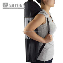 yoga mat bag in half mesh haly nylon easy to carry