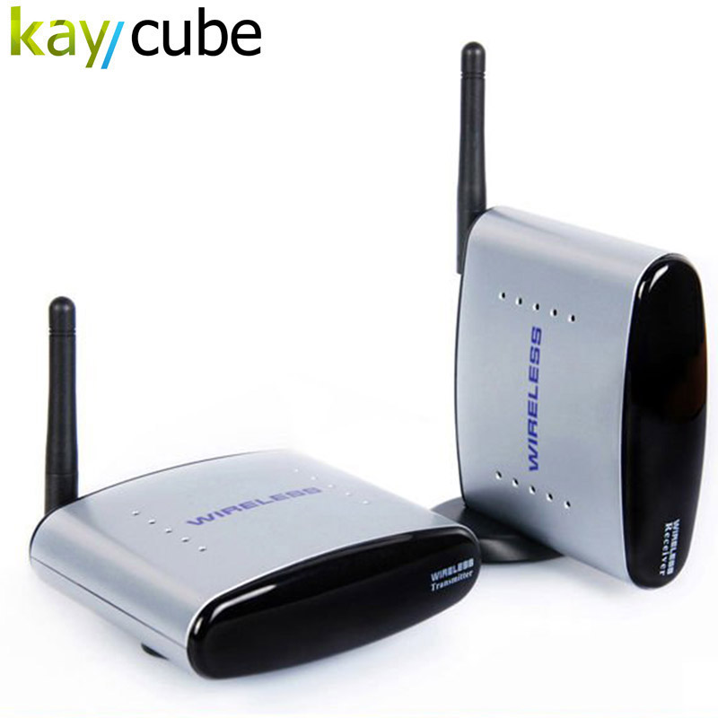 150M PAT-330 2.4G Wireless AV Audio and Video Sender Transmitter and Receiver System for DVD / DVR / IPTV / CCTV Camera / TV