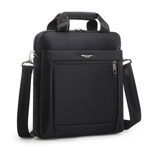 Men Small Briefcase Vertical Document Pack Men's Single Shou