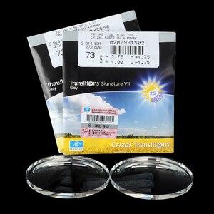 Image 3 - Essilor التحولات 1.56 1.59 1.60 1.67 1.74 نظارات فوتوكروميك وصفة طبية عدسات الحرباء 1Pair