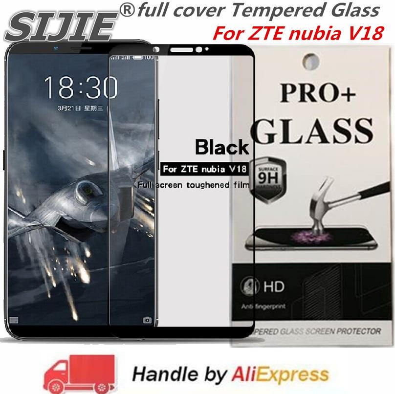 Купить Полное покрытие закаленное Стекло для zte nubia V18 nubia V18 V 18 Экран защитные смартфон на закаленное frame все края на Алиэкспресс