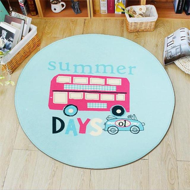 Japanese/Korean Carpet Round Kids Bedroom Rugs And Carpets Computer Chair Floor Mat Children Play & Japanese/Korean Carpet Round Kids Bedroom Rugs And Carpets ...