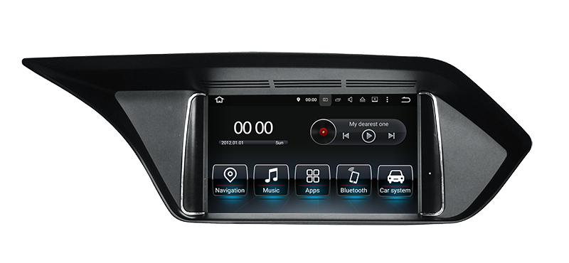 <font><b>Android</b></font> 7.1 Car Multimedia Player for Mercedes <font><b>Benz</b></font> E Class <font><b>W212</b></font> 2009-2015 w/ GPS Navigation DVD USB AUX SD WiFi 4Core+RAM 2GB image