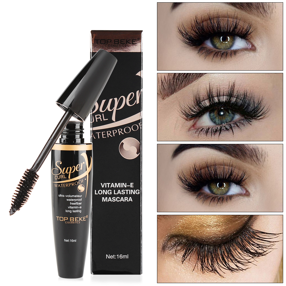 New Rotating Seventeen Head Mascara Black Long Lasting Waterproof Thick Curling Mascaras Eyes Make Up Cosmetic Bringing More Convenience To The People In Their Daily Life Beauty & Health