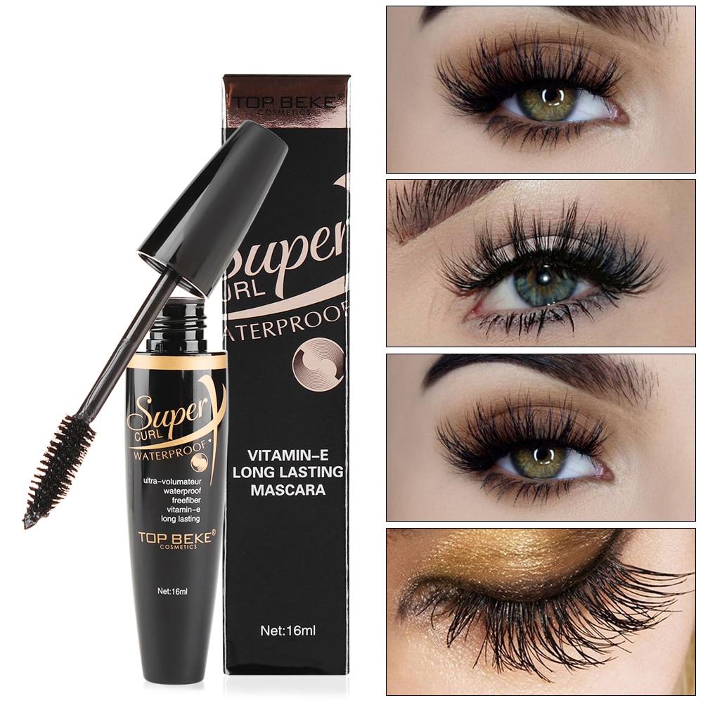 New 4D Silk Fiber Lash Mascara Waterproof 3d Mascara For ...