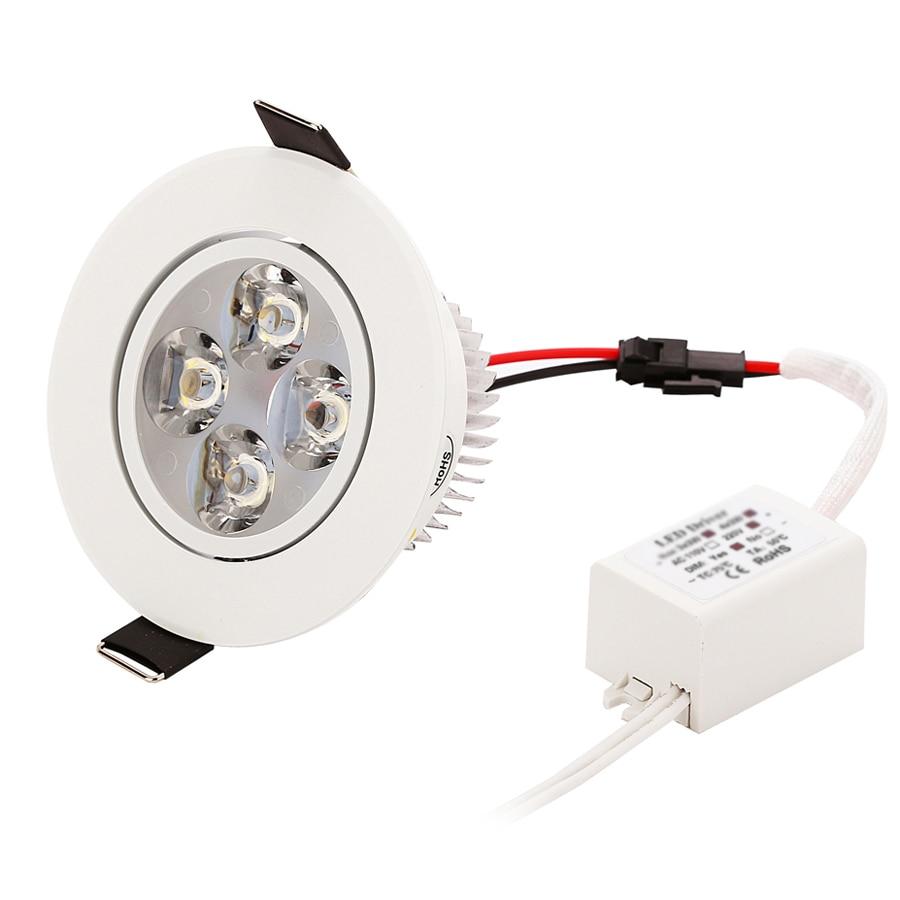 1 stks Dimbare LED Verzonken Downlight 1 W 3 W 5 W 7 W 90-770lm Cut - Binnenverlichting - Foto 4