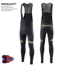 Morvelo Men Sport Breathable Spring Autumn  Cycling Pants Bike Pant Cycle 9D Gel Pad Riding Clothing Bicycle Bike MTB Trousers