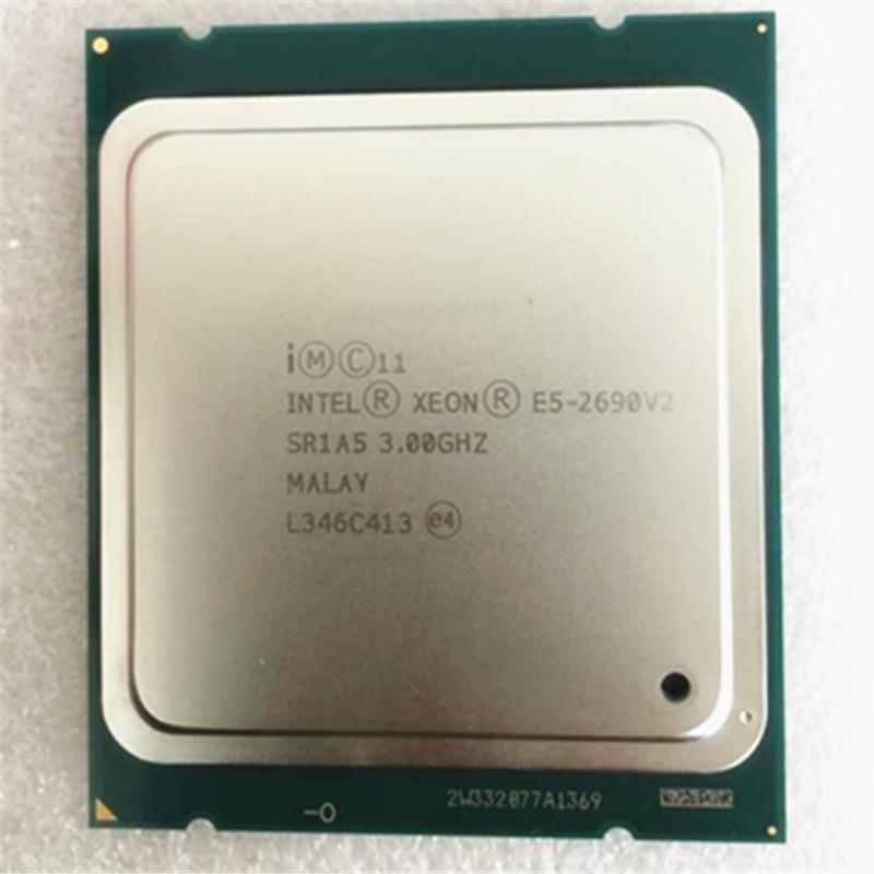 Galleria fotografica <font><b>intel</b></font> Xeon E5 2690 V2 cpu 10 core Processor /SR1A5 3.0GHz/ LGA 2011 socket E5 2690 v2 L3/25m