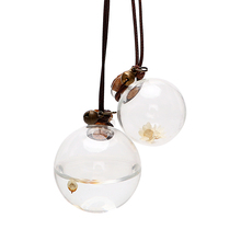 Car-Perfume-Bottle Empty-Hanging-Bottle Flower Air-Freshener Auto-Ornament Essential