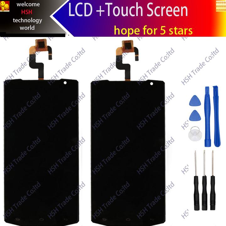 Prix pour 5.5 pouces 100% D'origine Oukitel k10000 LCD Display + Assemblée D'écran Tactile Pour oukitel k10000 + outils