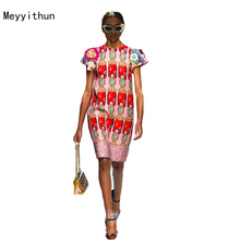 New Arrival Summer 2017 Amazing Appliques Flowers Printed Beaded Mini Dress 161225Z01
