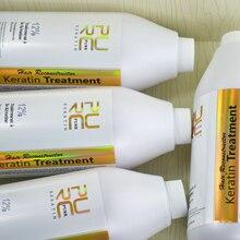 12% фиксированных формалином парафином бразильский кератин выпрямления волос купить 5 шт. 1000 мл кератин получить один бесплатный и OEM по уходу за волосами