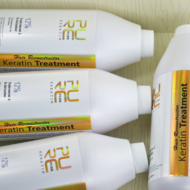 12% formalin brazilian keratin hair straightening buy 5 pcs 1000ml keratin get one free wholesale and OEM hair care products