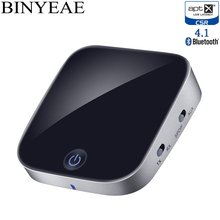 Binyeae Bluetooth Aptx low latency Optical Toslink SPDIF RCA 3.5mm Transmitter Receiver Wireless Stereo home TV Audio Adapter