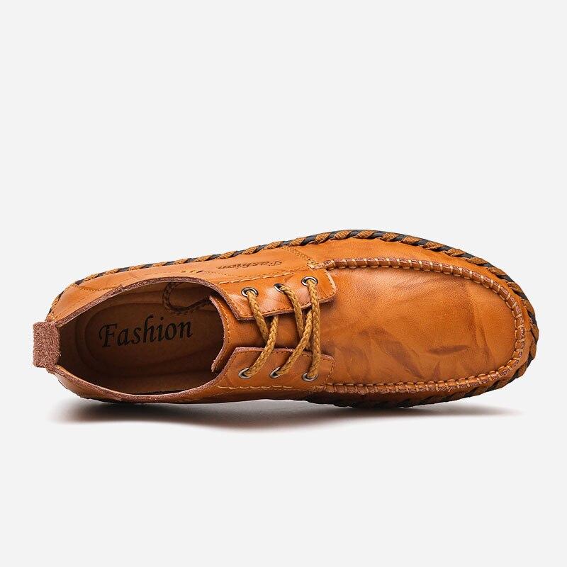 Dark Doux light Marque Hommes 702 Designer 2019 Cuir Pour noir Respirant De Brown En Chaussures Brown Adulte Printemps Mode Penreya Marche Décontractée Rwq8ZTq